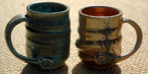 Mugs, woodfired